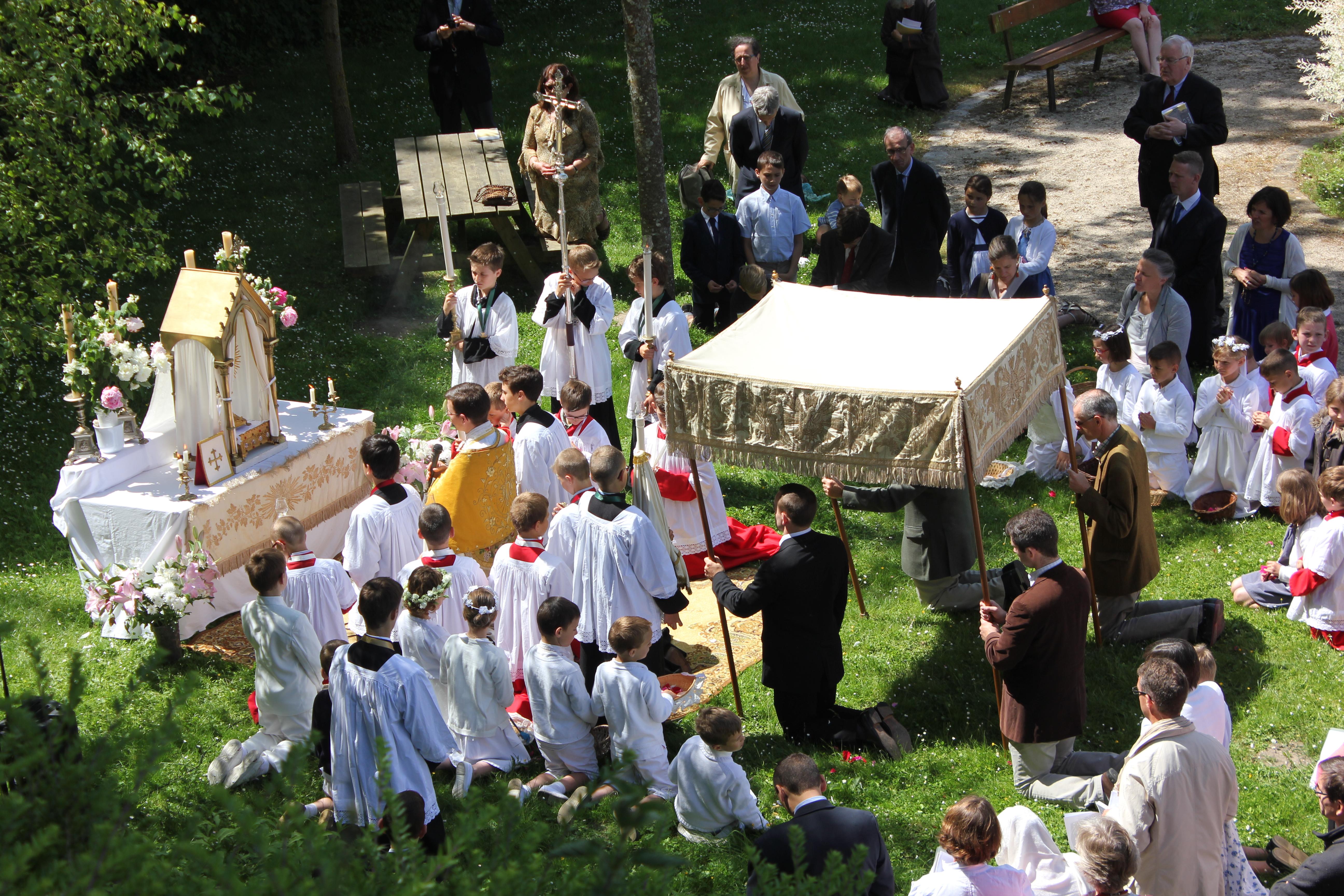 Procession de la Fête-Dieu 2005