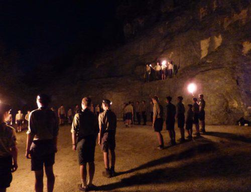 Camp des scouts