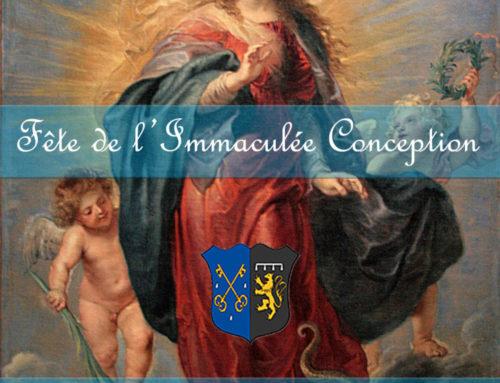 Fête de l'Immaculée Conception