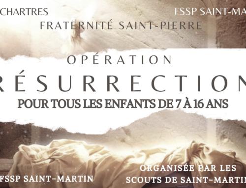 Opération Résurrection